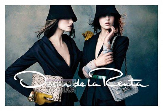 Рекламная кампания Oscar de la Renta осень-зима 2013-2014 фото №1