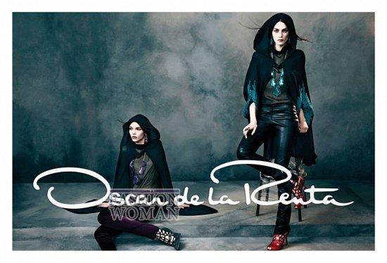 Рекламная кампания Oscar de la Renta осень-зима 2013-2014 фото №4