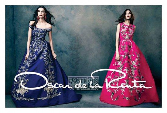 Рекламная кампания Oscar de la Renta осень-зима 2013-2014 фото №5