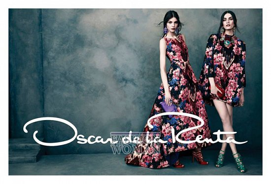 Рекламная кампания Oscar de la Renta осень-зима 2013-2014 фото №6