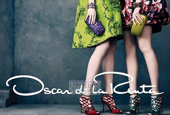 Рекламная кампания Oscar de la Renta осень-зима 2013-2014 фото №8