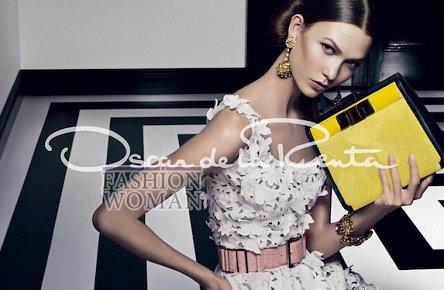 Рекламная кампания Oscar de la Renta весна-лето 2012 фото №1