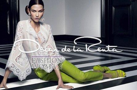Рекламная кампания Oscar de la Renta весна-лето 2012 фото №2