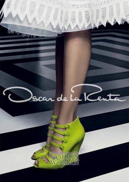 Рекламная кампания Oscar de la Renta весна-лето 2012 фото №6