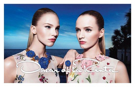 Рекламная кампания Oscar de la Renta весна-лето 2015 фото №6