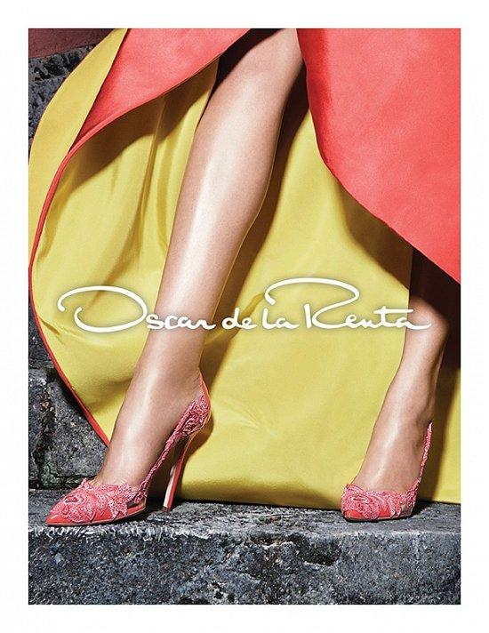 Рекламная кампания Oscar de la Renta весна-лето 2015 фото №4