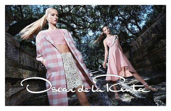 Рекламная кампания Oscar de la Renta весна-лето 2015 фото №5