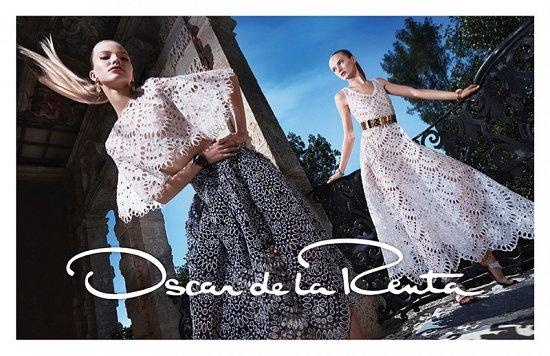 Рекламная кампания Oscar de la Renta весна-лето 2015 фото №7