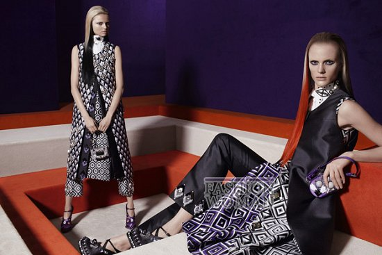 Рекламная кампания Prada осень-зима 2012-2013 фото №1