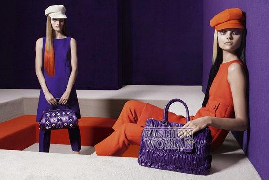 Рекламная кампания Prada осень-зима 2012-2013 фото №11