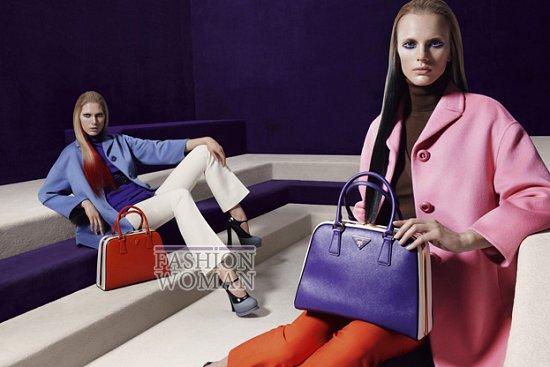 Рекламная кампания Prada осень-зима 2012-2013 фото №12