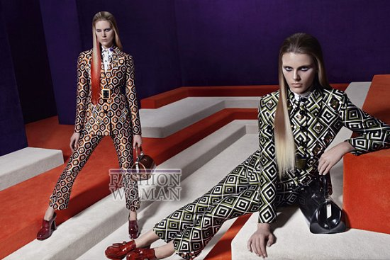 Рекламная кампания Prada осень-зима 2012-2013 фото №13