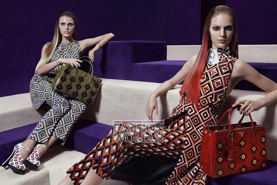 Рекламная кампания Prada осень-зима 2012-2013 фото №6