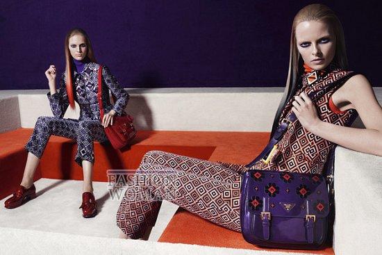 Рекламная кампания Prada осень-зима 2012-2013 фото №7