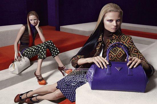 Рекламная кампания Prada осень-зима 2012-2013 фото №9