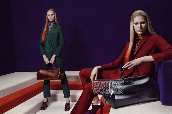 Рекламная кампания Prada осень-зима 2012-2013 фото №10