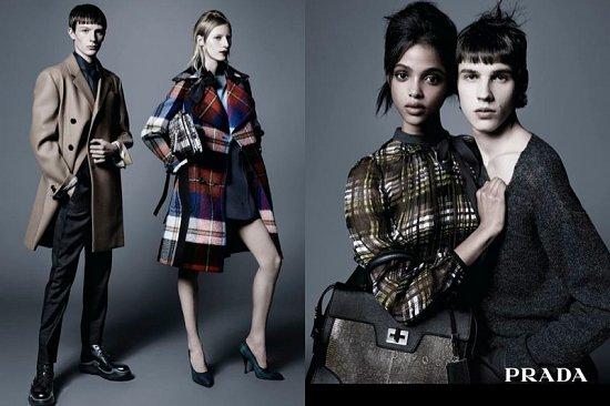 Рекламная кампания Prada pre-fall 2015