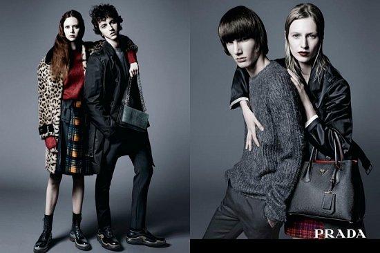Рекламная кампания Prada pre-fall 2015 фото №3