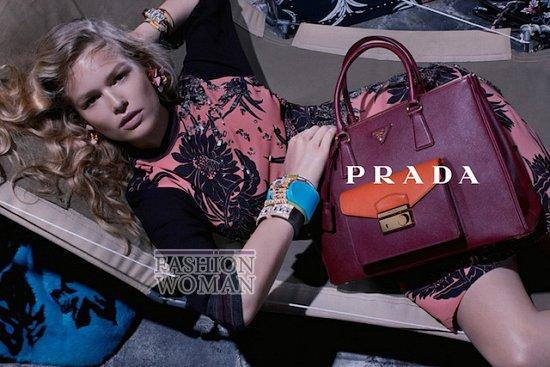 Рекламная кампания Prada Resort 2014 фото №2