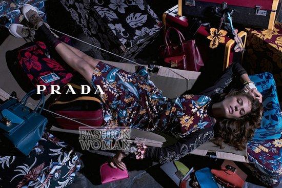 Рекламная кампания Prada Resort 2014 фото №3