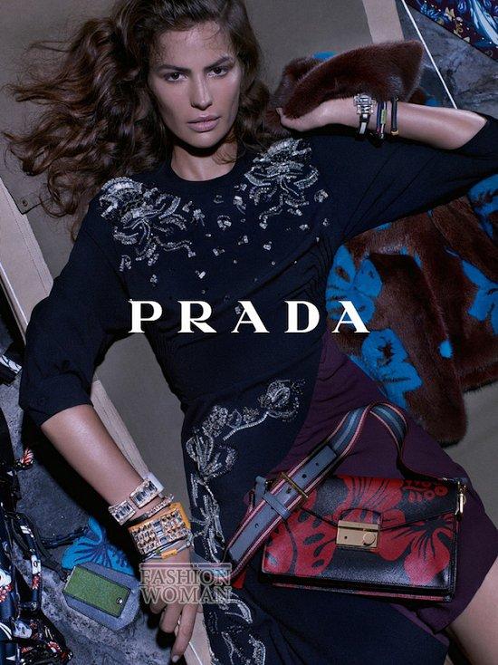 Рекламная кампания Prada Resort 2014 фото №4