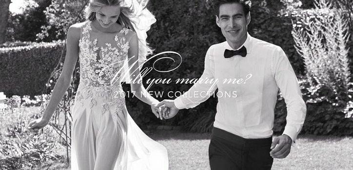 Рекламная кампания свадебной коллекции Pronovias 2017 фото №4