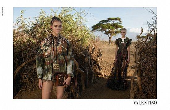Рекламная кампания Valentino весна-лето 2016 фото №2