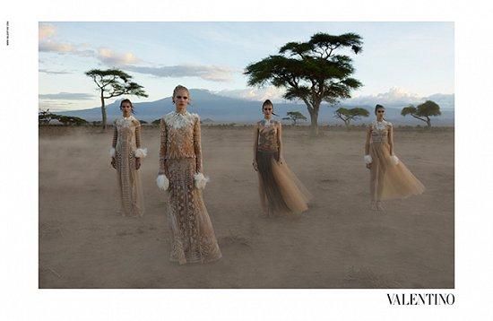 Рекламная кампания Valentino весна-лето 2016 фото №4