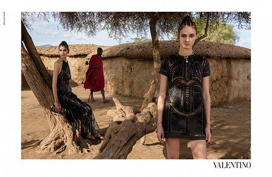 Рекламная кампания Valentino весна-лето 2016 фото №5