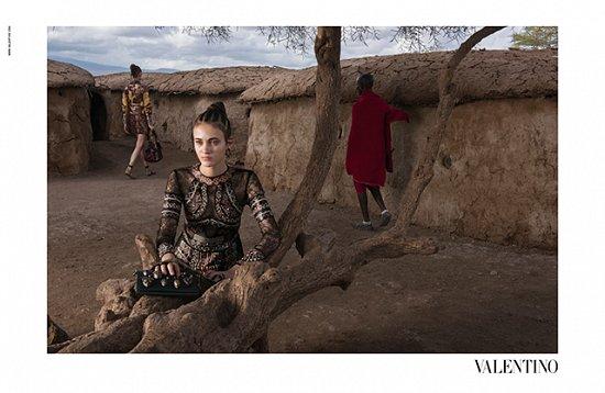 Рекламная кампания Valentino весна-лето 2016 фото №7