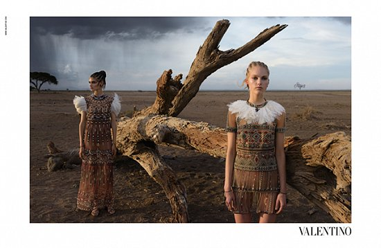 Рекламная кампания Valentino весна-лето 2016 фото №9