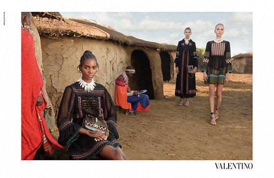 Рекламная кампания Valentino весна-лето 2016 фото №10