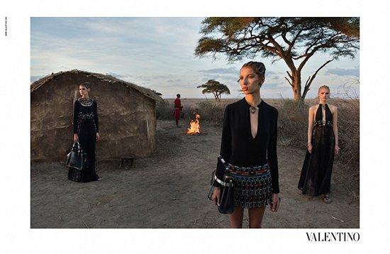 Рекламная кампания Valentino весна-лето 2016 фото №12