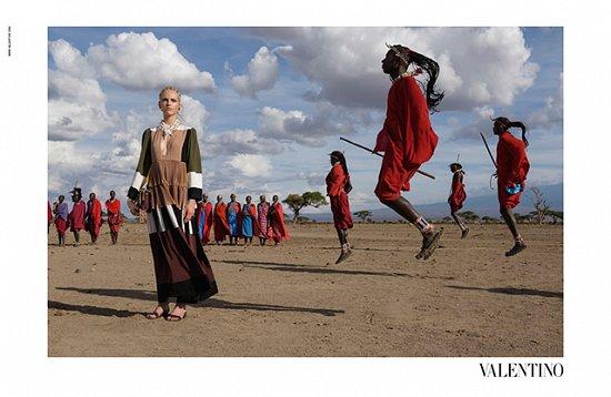 Рекламная кампания Valentino весна-лето 2016 фото №13