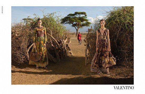 Рекламная кампания Valentino весна-лето 2016 фото №14