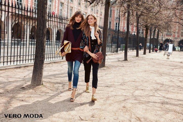 Рекламная кампания Vero Moda осень-зима 2016-2017 фото №4