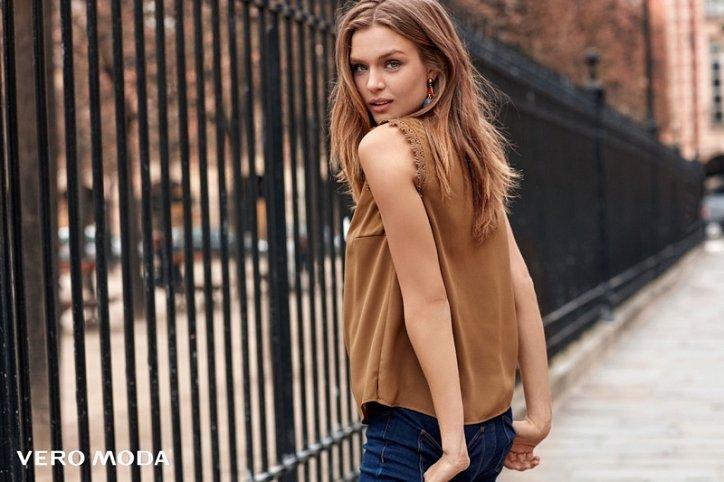 Рекламная кампания Vero Moda осень-зима 2016-2017 фото №8