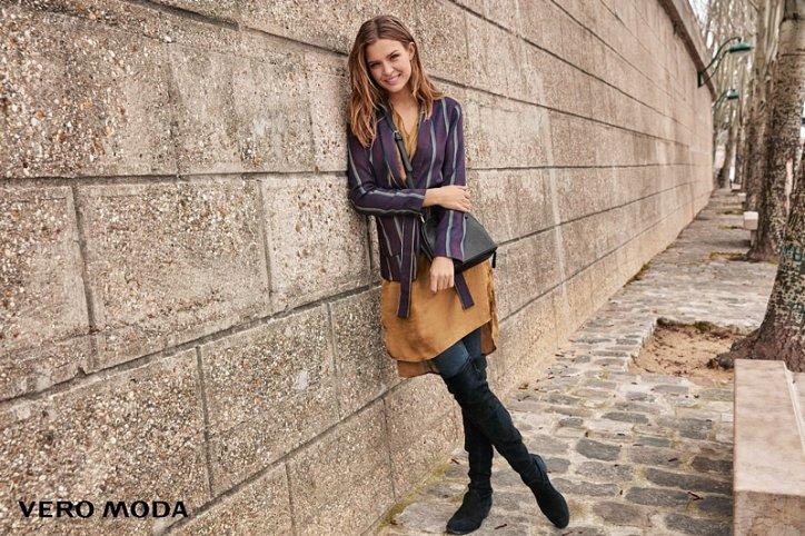 Рекламная кампания Vero Moda осень-зима 2016-2017 фото №9