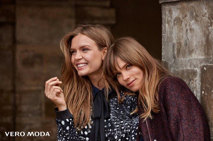 Рекламная кампания Vero Moda осень-зима 2016-2017 фото №11