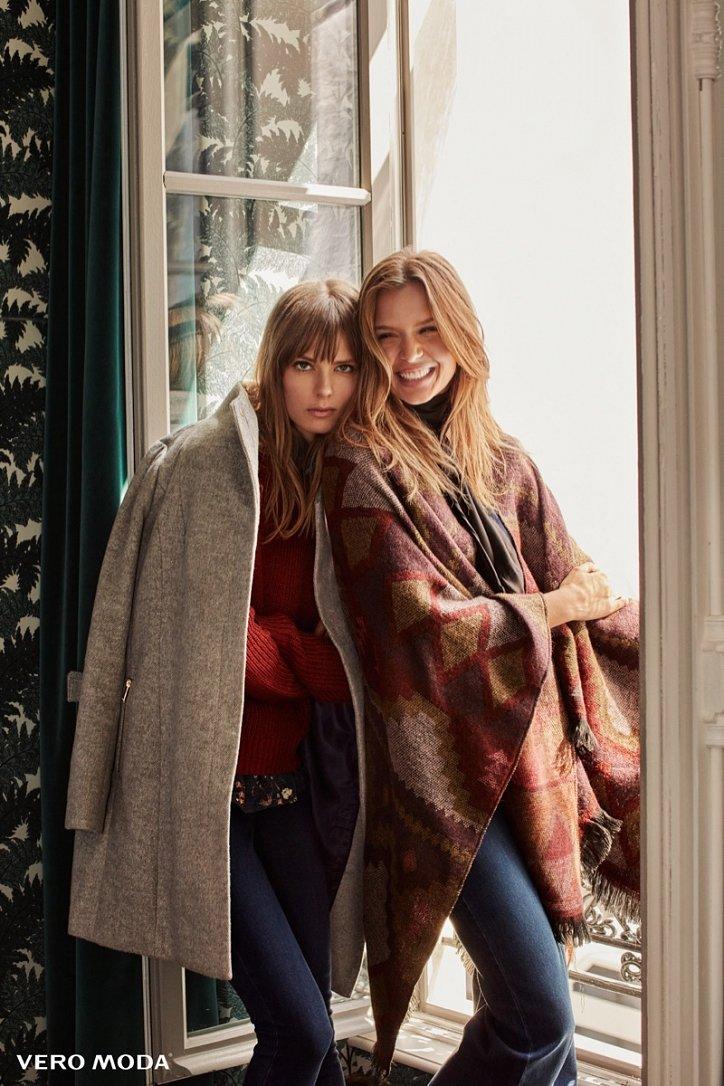 Рекламная кампания Vero Moda осень-зима 2016-2017 фото №14