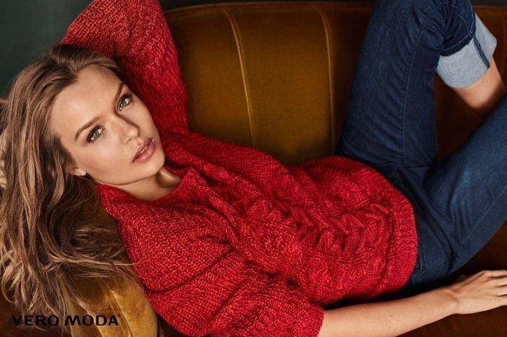 Рекламная кампания Vero Moda осень-зима 2016-2017 фото №15