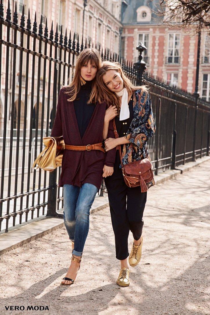 Рекламная кампания Vero Moda осень-зима 2016-2017 фото №16