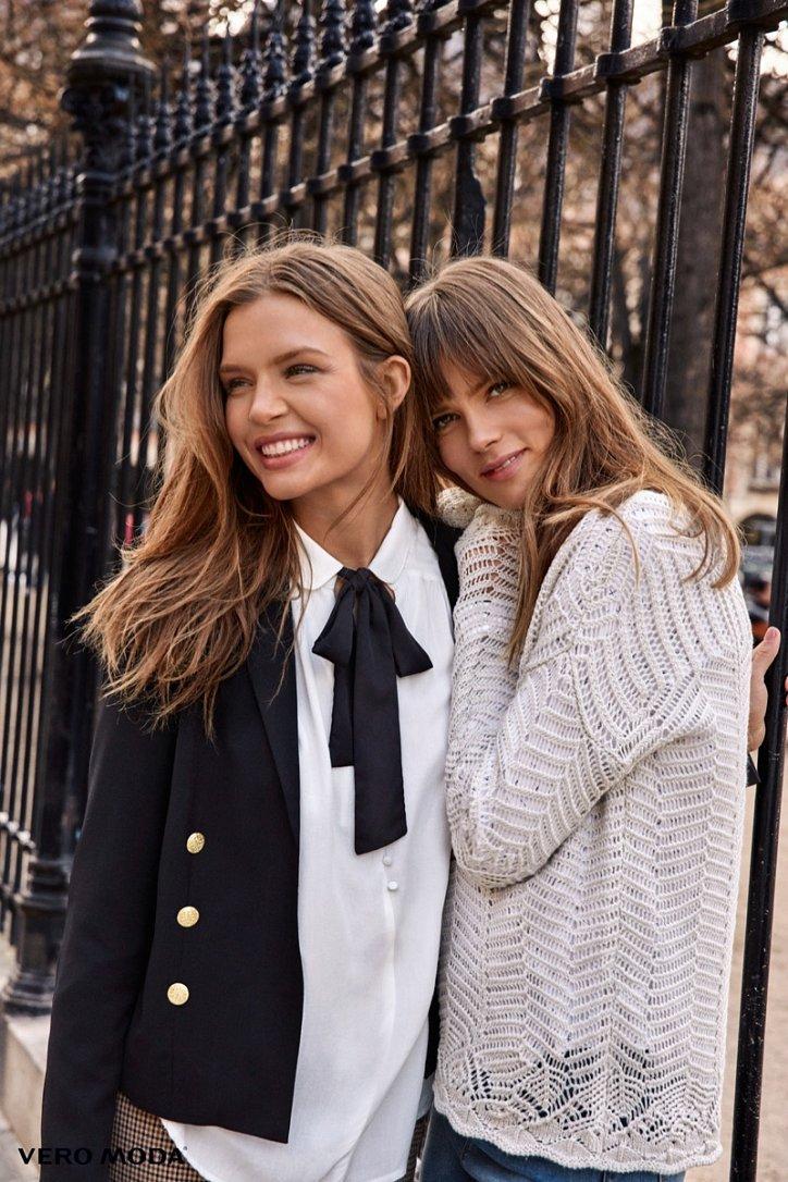 Рекламная кампания Vero Moda осень-зима 2016-2017 фото №17