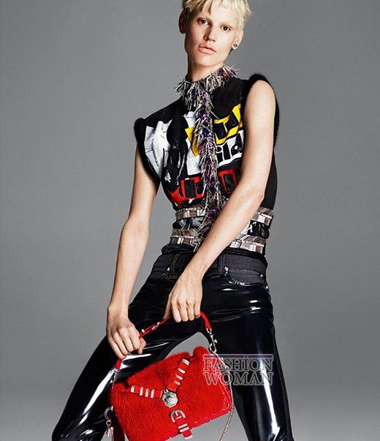 Рекламная кампания Versace осень-зима 2013-2014 фото №2