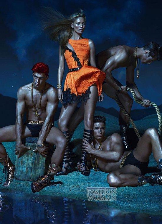 Рекламная кампания Versace весна-лето 2013