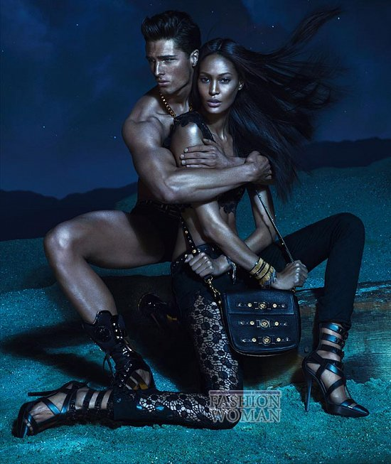 Рекламная кампания Versace весна-лето 2013 фото №3