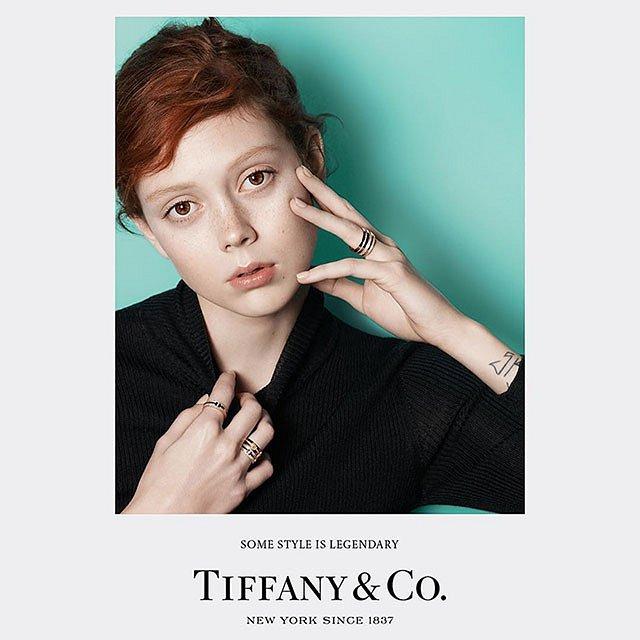 Рекламная кампания ювелирных украшений Tiffany  фото №3