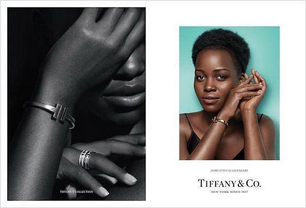 Рекламная кампания ювелирных украшений Tiffany  фото №5