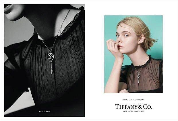 Рекламная кампания ювелирных украшений Tiffany  фото №6