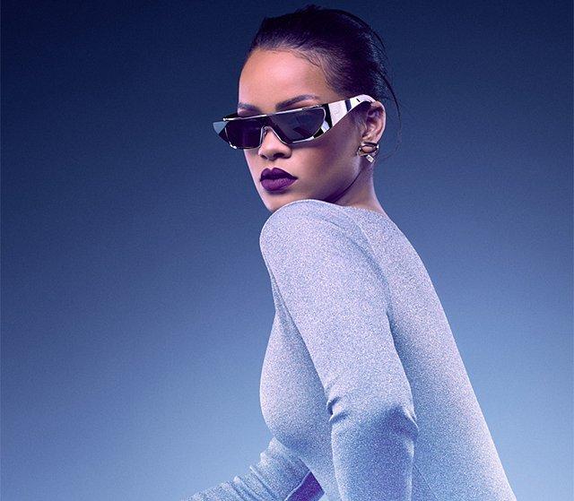 Рианна в рекламной кампании солнцезащитных очков Dior  фото №4
